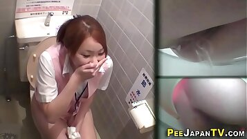 super hot japanese babe drinks his piss like maniac