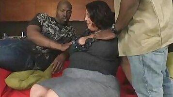 Naughty Latina Wife Sucks Cum With Huge Black Cock