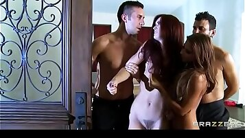 A Married Couple Swinger Bang With Roommates