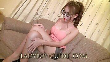 Senseless Delicate Ladyboy Love In Thai Hotel
