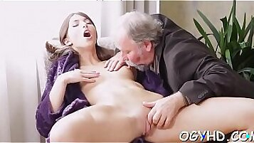 Anissa Kate Jasmine takes her throbbing cocks in her tight pussy