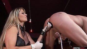 Sensual Femdom With Female SlaveFavD - BJ Anal Creampie