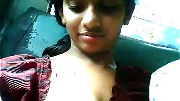 telugu girl in public place